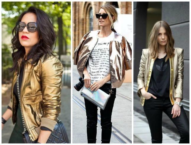 jaquetas metalizadas