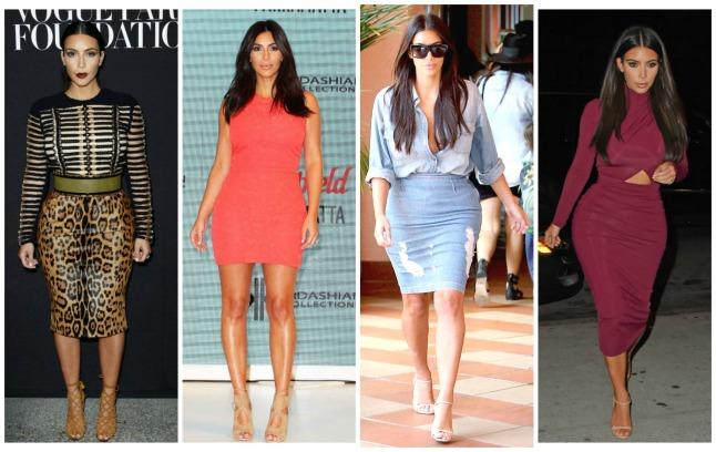 Kim Kardashian - cores e estampas