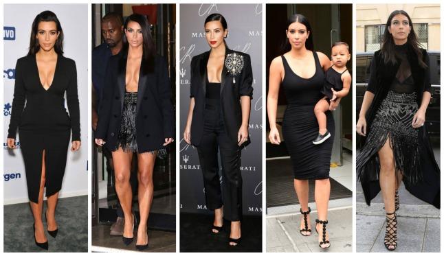 Kim Kardashian - preto