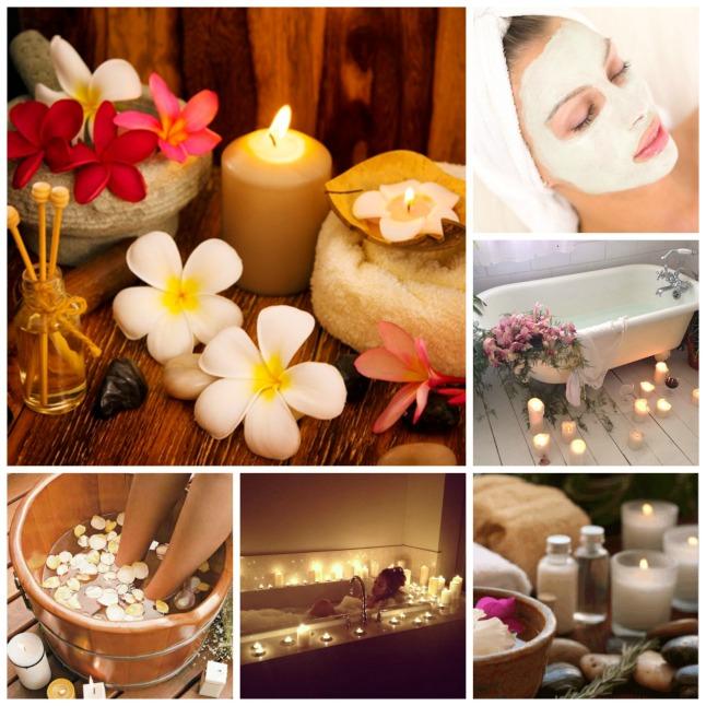 Algumas ideias do Pinterest para adaptar seu home spa